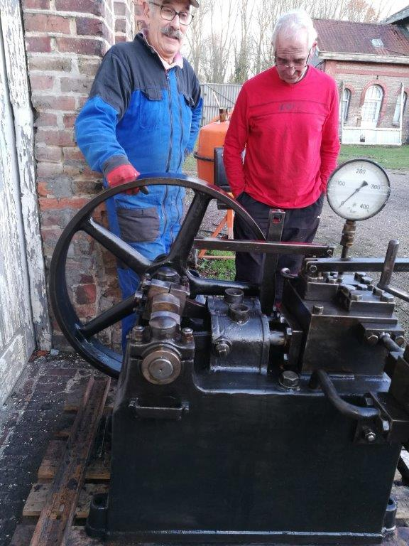 Pompe hydraulique 2